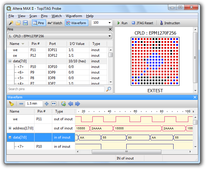 TopJTAG Probe screenshot